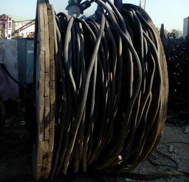 Сдать медный кабель неочищенный